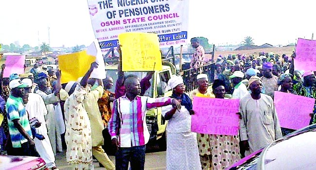 Abia Pensioners Insist Govt. Owed More Than Five Month Arrears