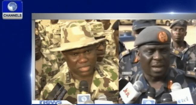 Command Centre: Military Strategises Towards President Buhari's Directive