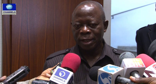 NASS Crisis Would Soon Be Forgotten – Oshiomhole