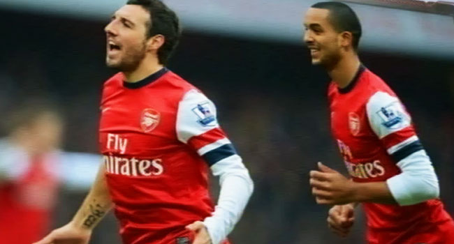 Cazorla And Walcott Sign New Arsenal Deals