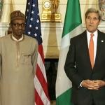 John Kerry Meets Muhammadu Buhari in Abuja
