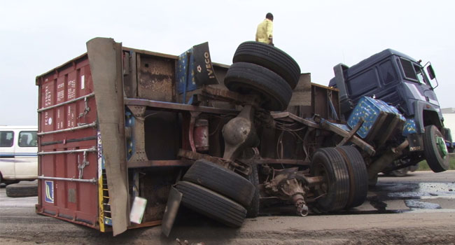 Truck Crushes Street Hawker To Death In Owerri