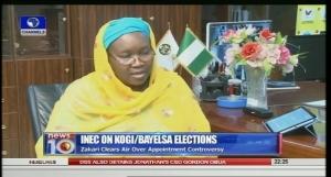INEC Chairmanm, Amina Zakari