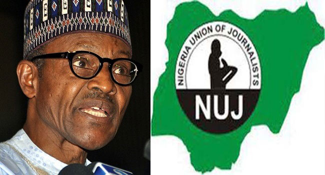'Work With Me To Rebuild Nigeria,' Buhari Urges Journalists