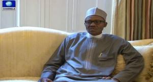 Muhammadu Buhari on Bakasi Peninsula
