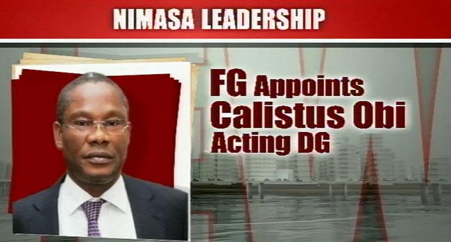 FG Appoints Obi Calistus As DG Of NIMASA