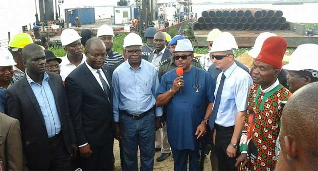 Obiano Inspects Second Niger Bridge