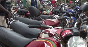 motorcycle for Delta State Agriculture extension agents
