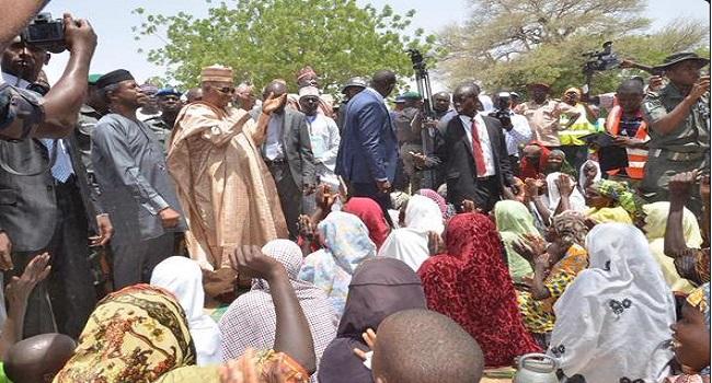 I Visited Maiduguri On A Fact Finding Mission – Osinbajo