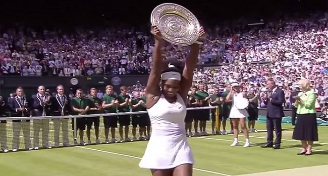 Sports Illustrated Names Serena 'Sportsperson Of The Year'