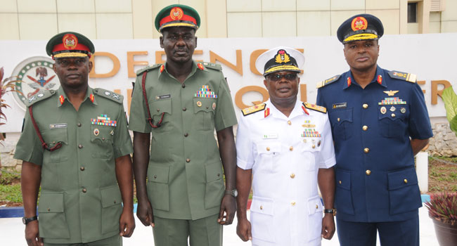Senate Confirms Newly Appointed Service Chiefs