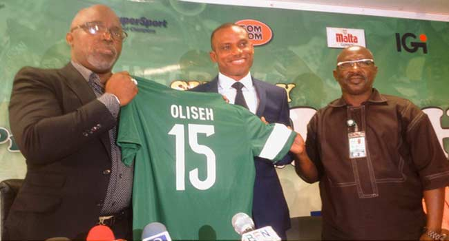 Sunday Oliseh Gets Super Eagles Coaching Job