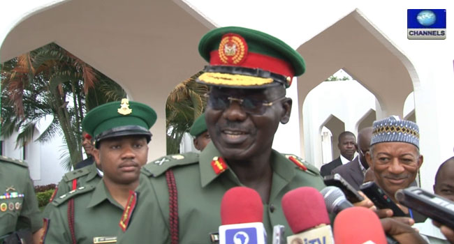 Army Chief Commissions 16 Brigade Facility In Bayelsa