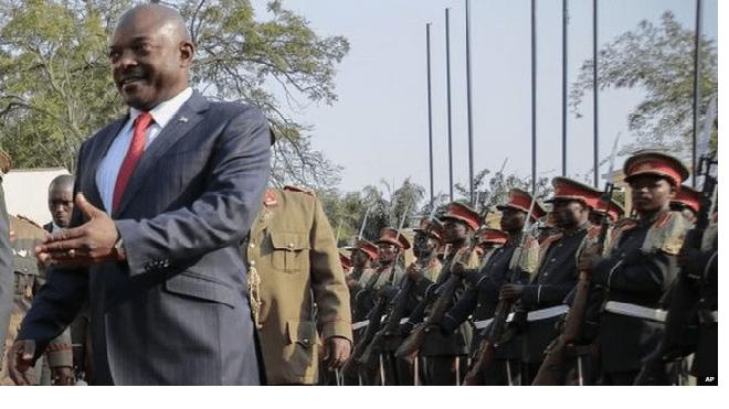 Burundi Election: President Nkurunziza Seeks Third Term Amidst Tension
