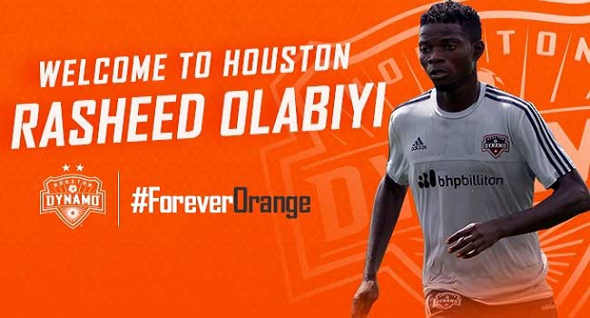 Nigeria's Rasheed Olabiyi Joins Houston Dynamo