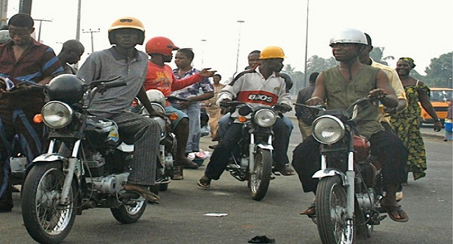 Motorcyclists In Akure Protest Enforcement Of New Number Plate Purchase