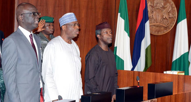 FG Orders Transfer of 250 Million Dollars To Sovereign Account