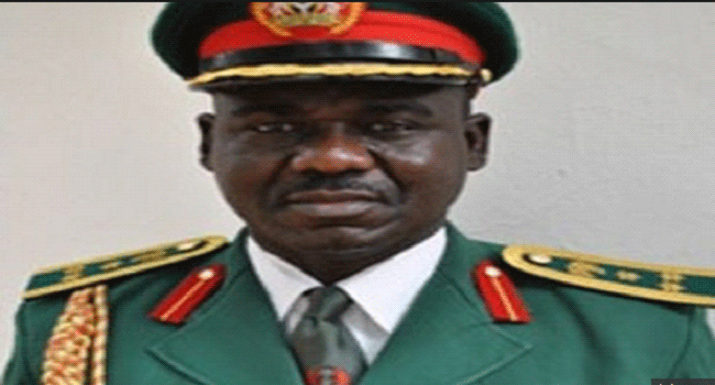 new chief of army staff resumes to celebrate sallah with troops