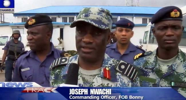 Nigerian Navy Rescues 2 Foreign Nationals