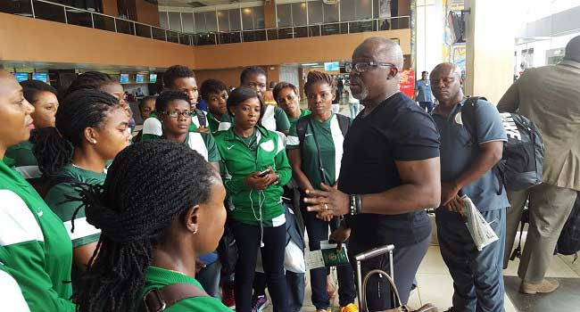NFF Charges Super Falcons To Win In Bata