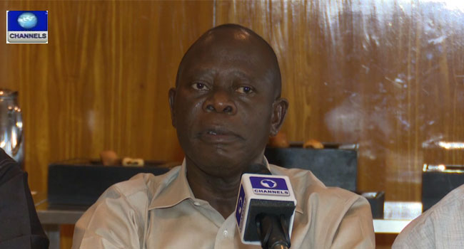 Oshiomhole Urges Return Of Alleged Looted Arms Money