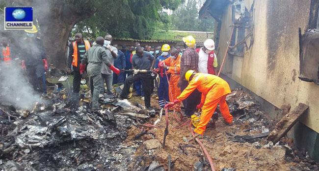 Seven Die As Nigerian Air Force Aircraft Crashes In Kaduna