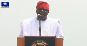 Akinwunmi Ambode Lagos Governor on Treasury Single Account