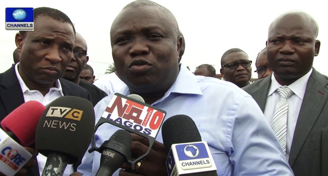 Lagos LG Elections: Ambode Votes In Epe