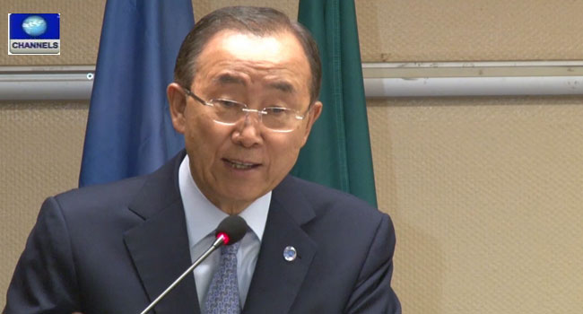 Ban Ki-moon Requests Buhari's Input To Fresh UN Resolution Against Extremism