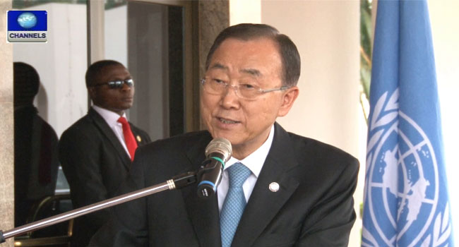 Ban Ki-moon Commends Nigeria For Interrupting Polio
