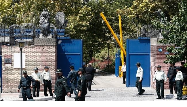British Embassy In Tehran Reopens