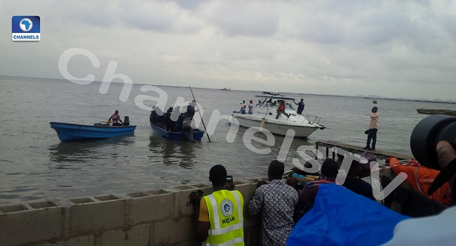 NEMA Recovers Four Bodies From Lagos Lagoon Crash Scene