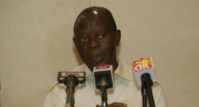 Niger Delta Leaders Want Oshiomhole To Represent Them At Presidency