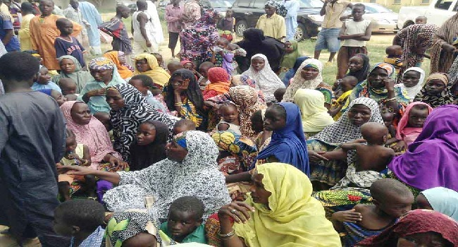 Bama IDPs Get Relief Materials