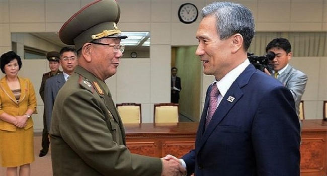 South North Korea Deal Agree To Reduce  Tensions