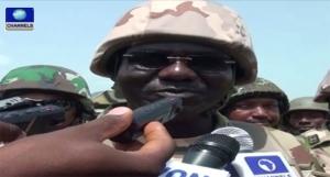 Boko Haram, Tukur Buratai, Chief of Army Staff