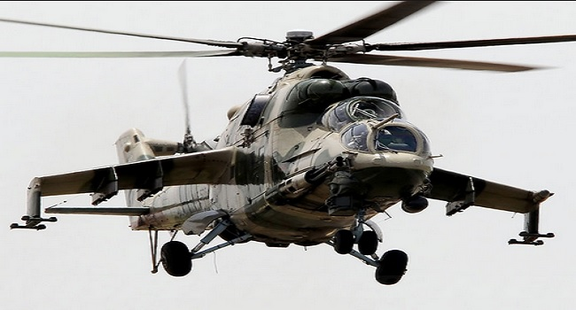 Air Force Takes Delivery Of Two Russian Helicopters