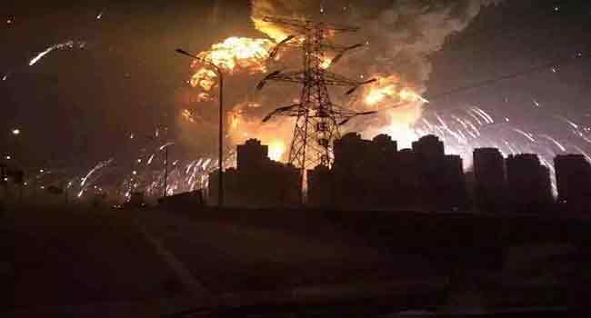 China Tianjin Explosions: Nearly 100 Still Missing