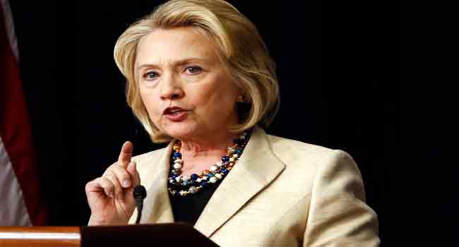 Clinton Feels Much Better From Pneumonia Diagnosis
