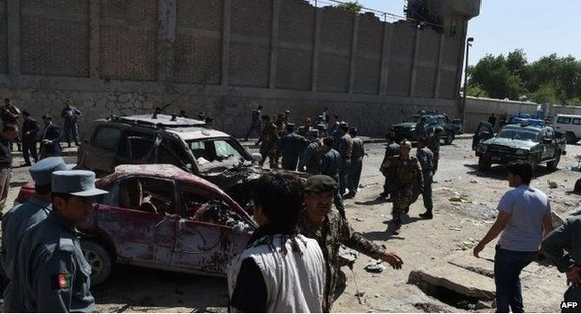 Suicide Bomber Attacks Kabul's Airport Checkpoint