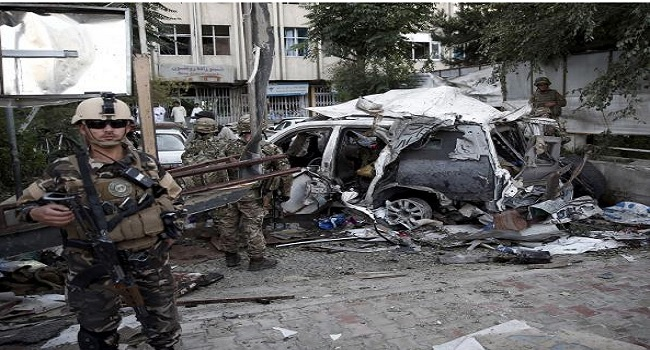 Kabul Bomb Targets Foreign Contractors, Kills Mostly Afghans