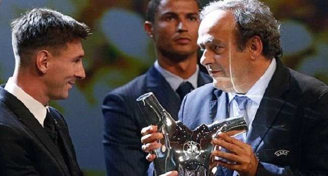 Messi Named Best Player In Europe