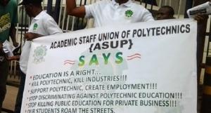 ASUP, Strike, Polytechnics