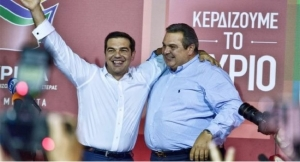 Alexis Tsipras- leader of syriza party