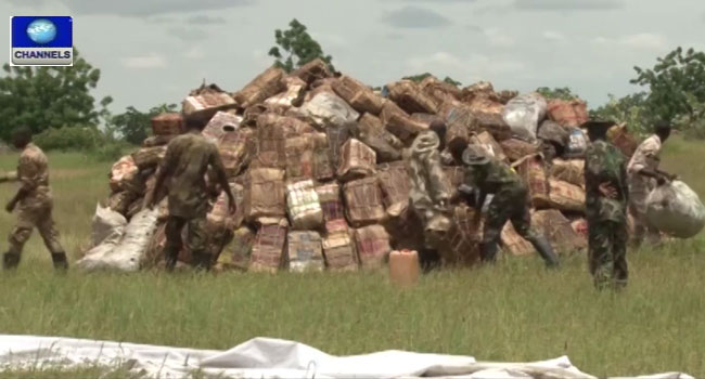 Dried Fish Worth Over 60m Naira Seized From Suspected Terrorists