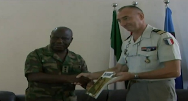 France Donates Books To N/Army Language Institute