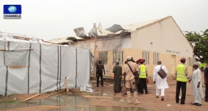 IDPs-Camp-Bomb in northeast Nigeria