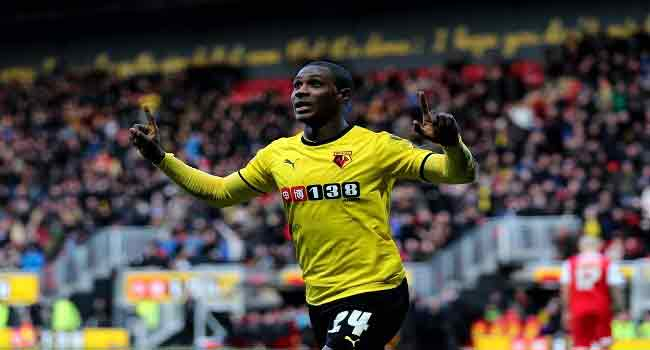 Watford's Ighalo Joins League Of Chinese Football Pros