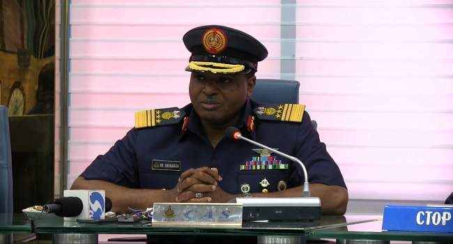 Air Chief Condemns Renewed Bombings, Advocates Civilians' Support