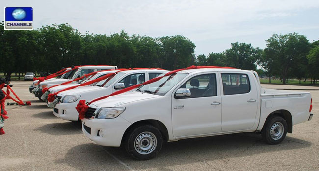 Counter-Terrorism: Automobile Manufacturer Gives MNJTF Vehicles